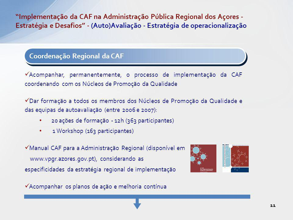 Coordenação Regional da CAF