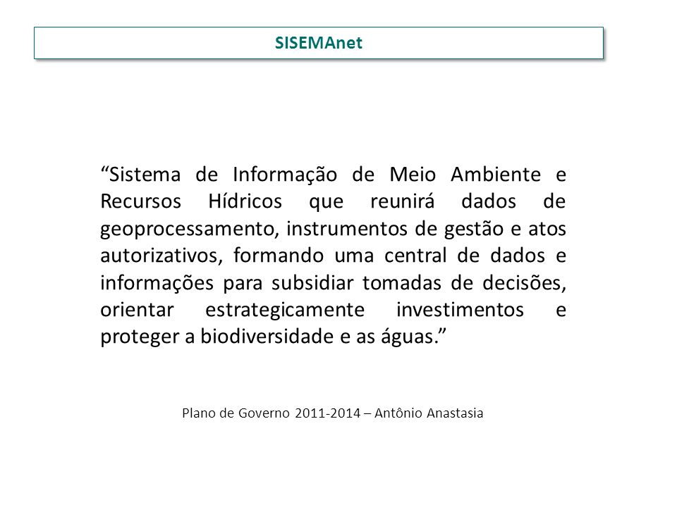 Plano de Governo 2011-2014 – Antônio Anastasia
