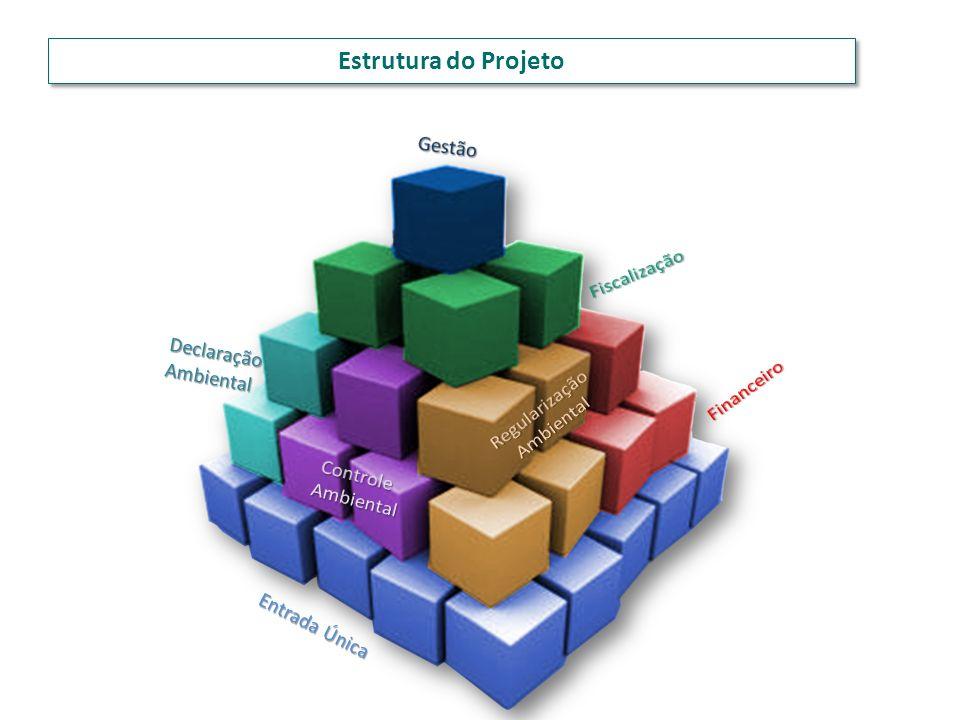 Estrutura do Projeto Gestão Fiscalização Declaração Ambiental