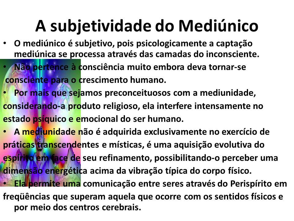 A subjetividade do Mediúnico