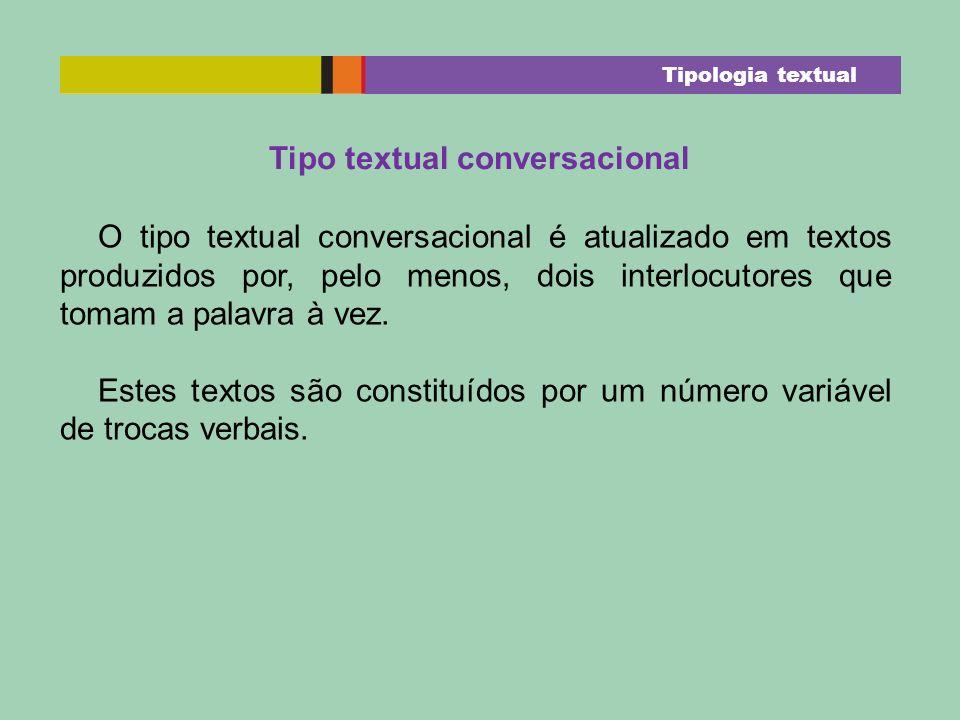 Tipo textual conversacional