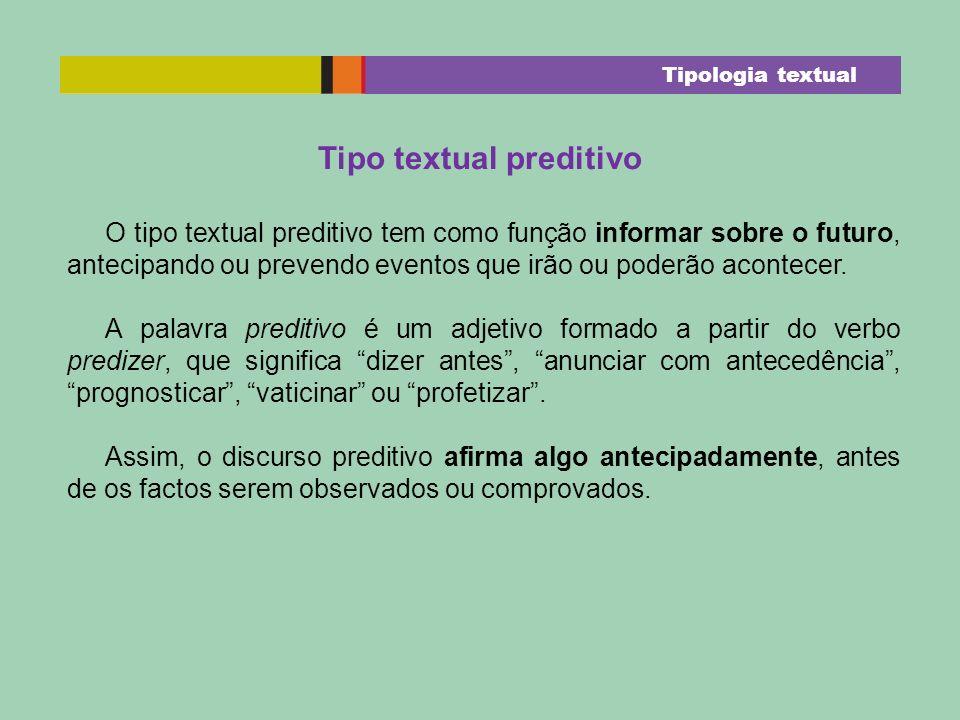 Tipo textual preditivo