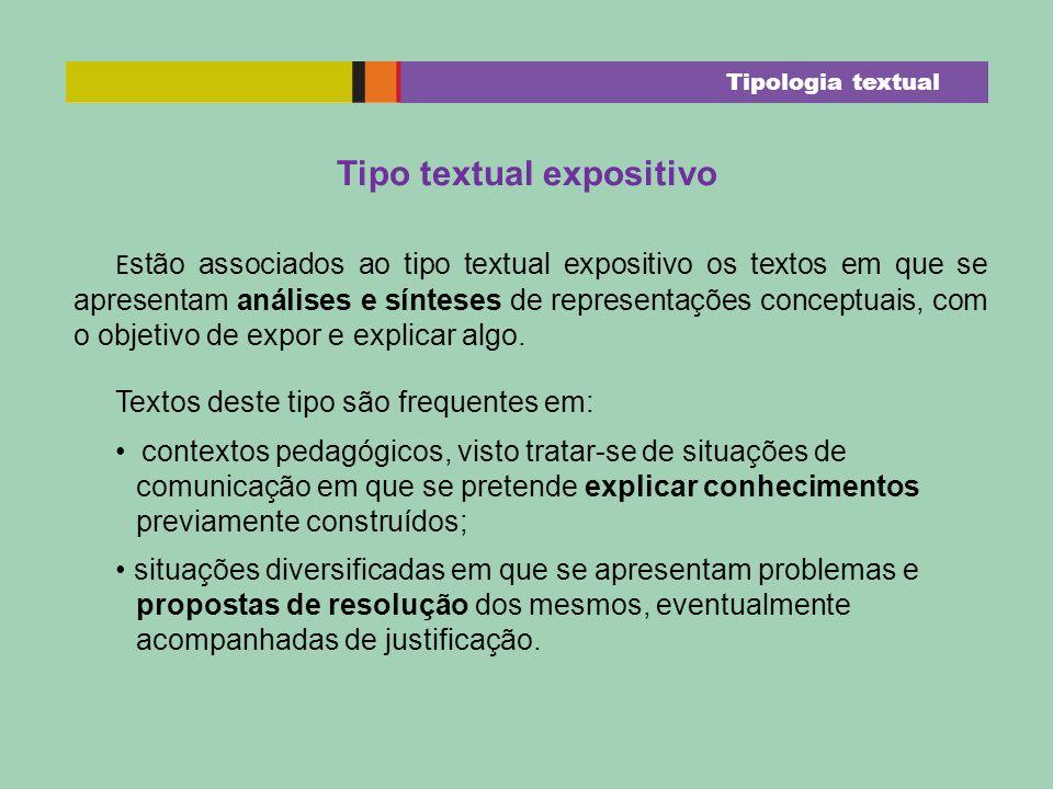 Tipo textual expositivo