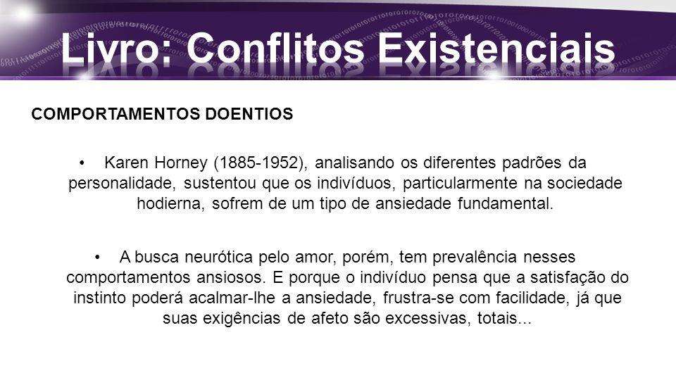 Livro: Conflitos Existenciais