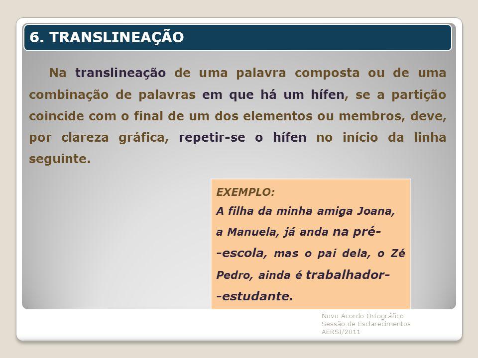 6. TRANSLINEAÇÃO