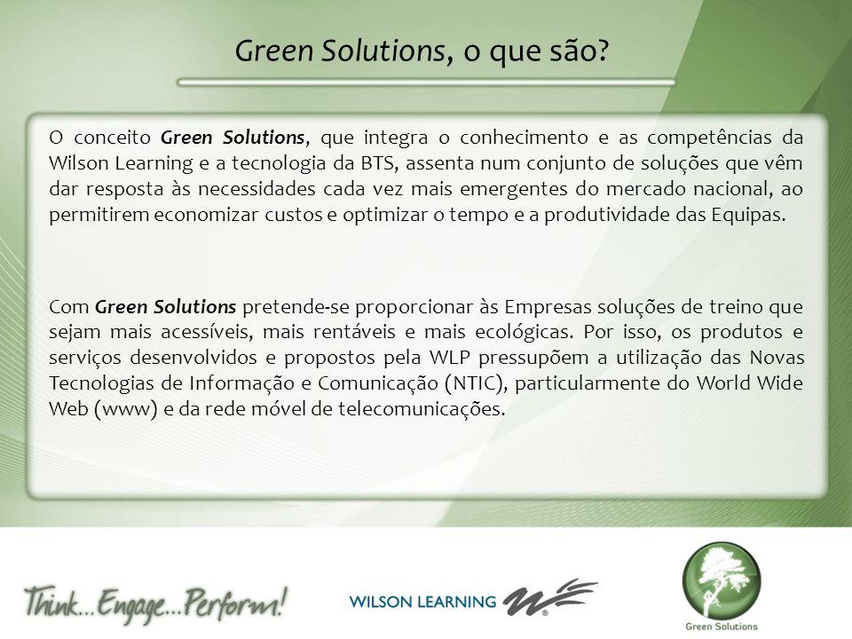 Green Solutions, o que são