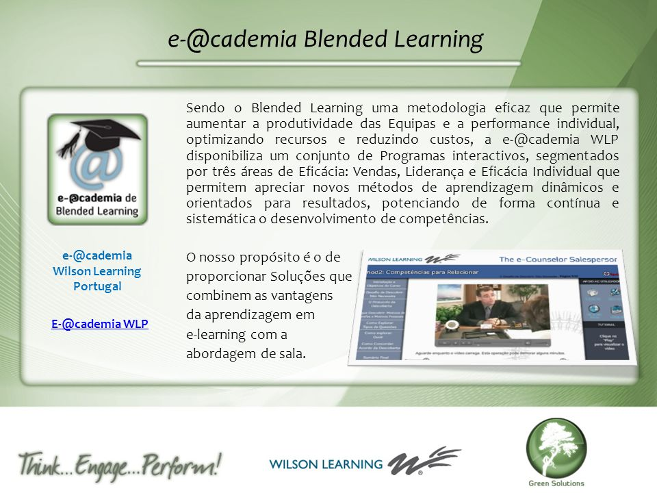 e-@cademia Blended Learning