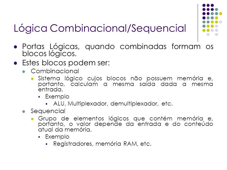Lógica Combinacional/Sequencial