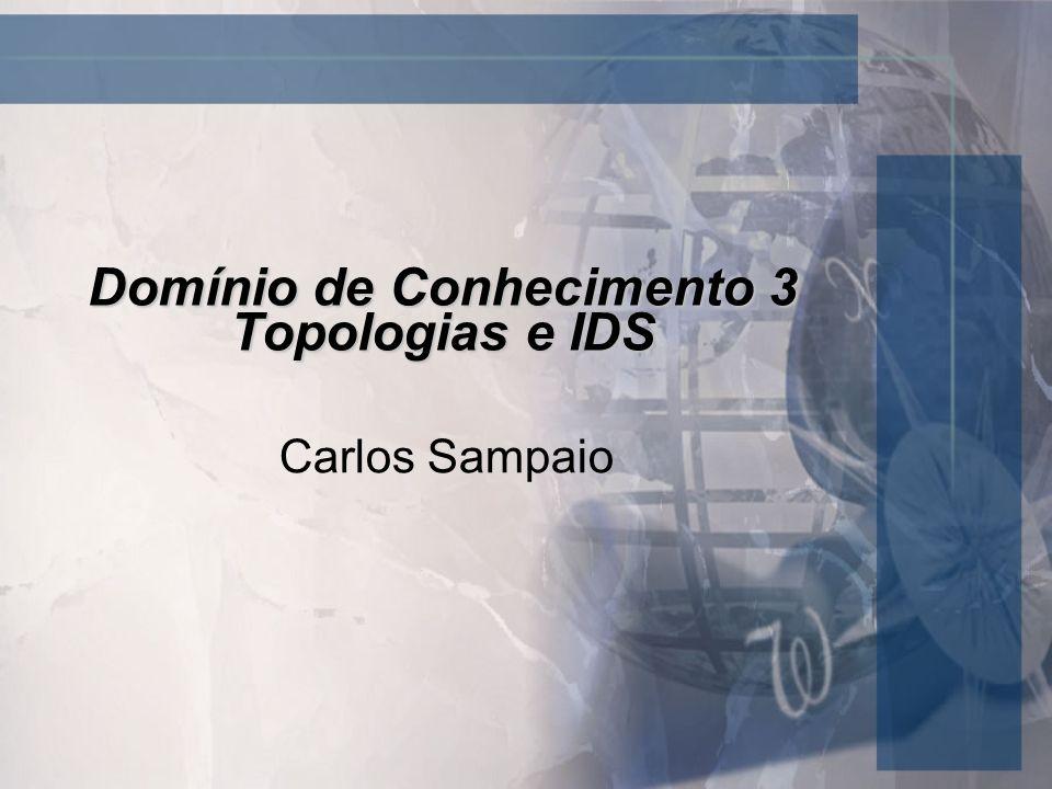 Domínio de Conhecimento 3 Topologias e IDS