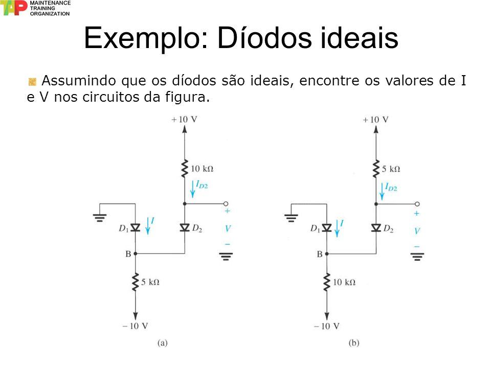 Exemplo: Díodos ideais