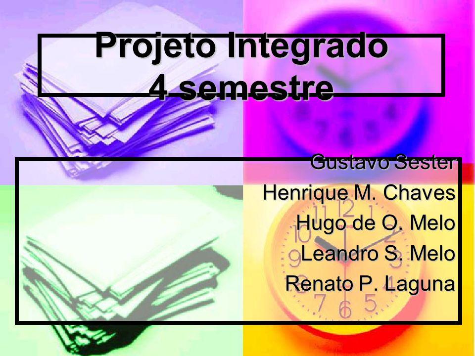 Projeto Integrado 4 semestre