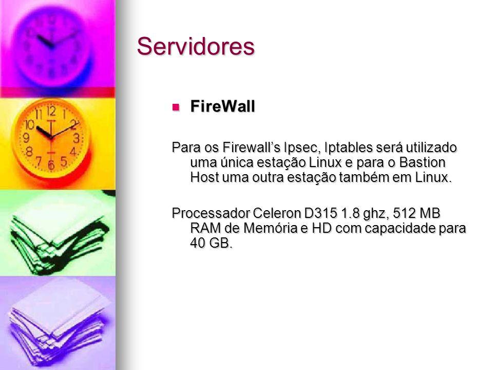 Servidores FireWall.