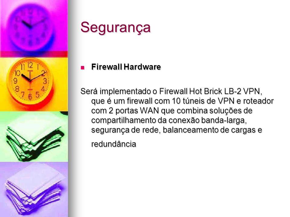 Segurança Firewall Hardware