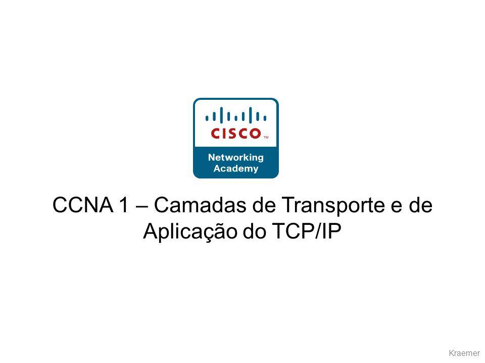 CCNA 1 – Camadas de Transporte e de Aplicação do TCP/IP