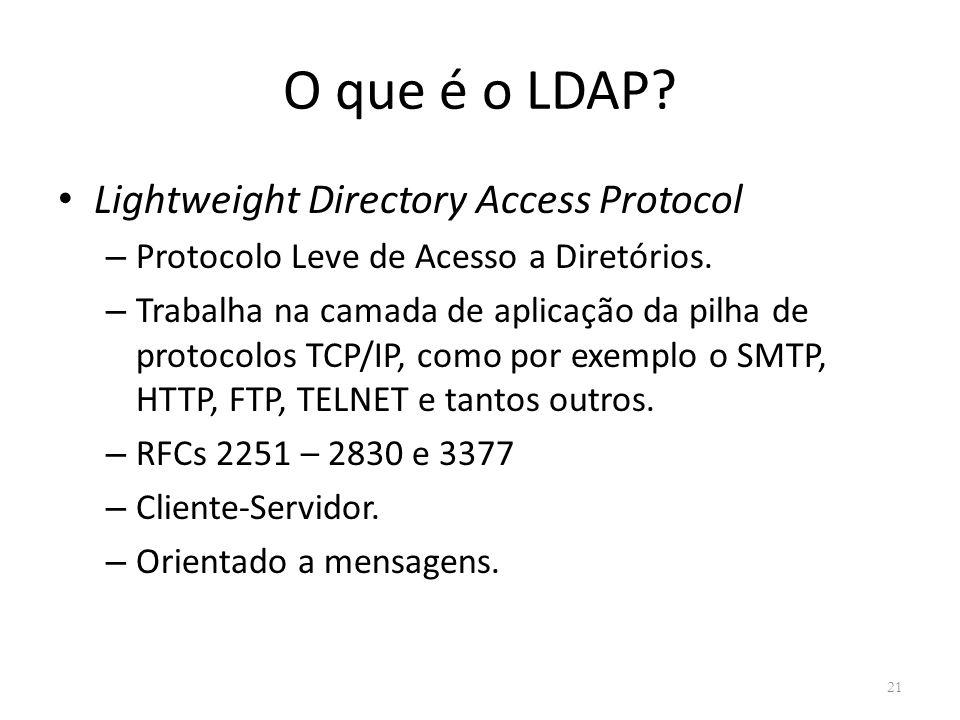 O que é o LDAP Lightweight Directory Access Protocol