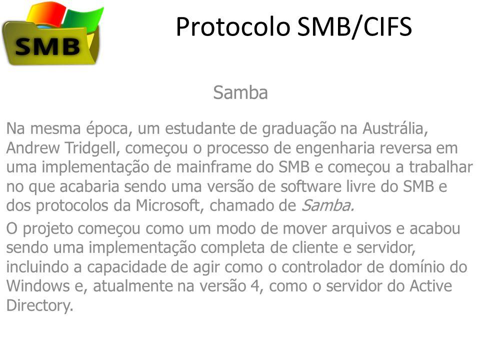 Protocolo SMB/CIFS Samba