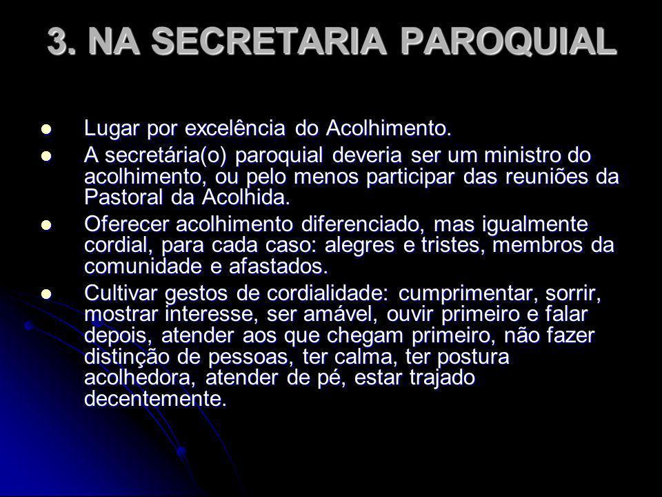 3. NA SECRETARIA PAROQUIAL