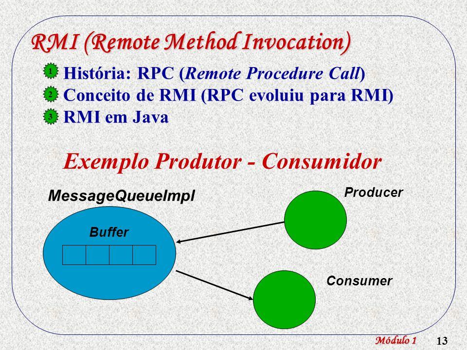 RMI (Remote Method Invocation)