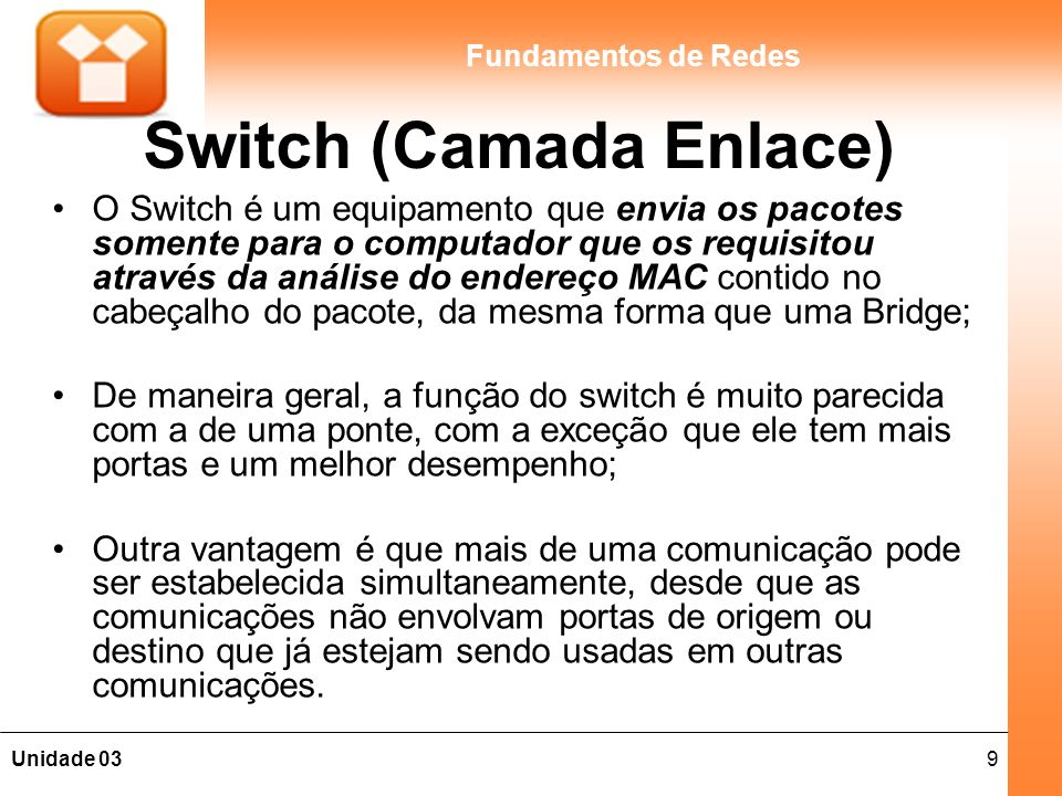 Switch (Camada Enlace)