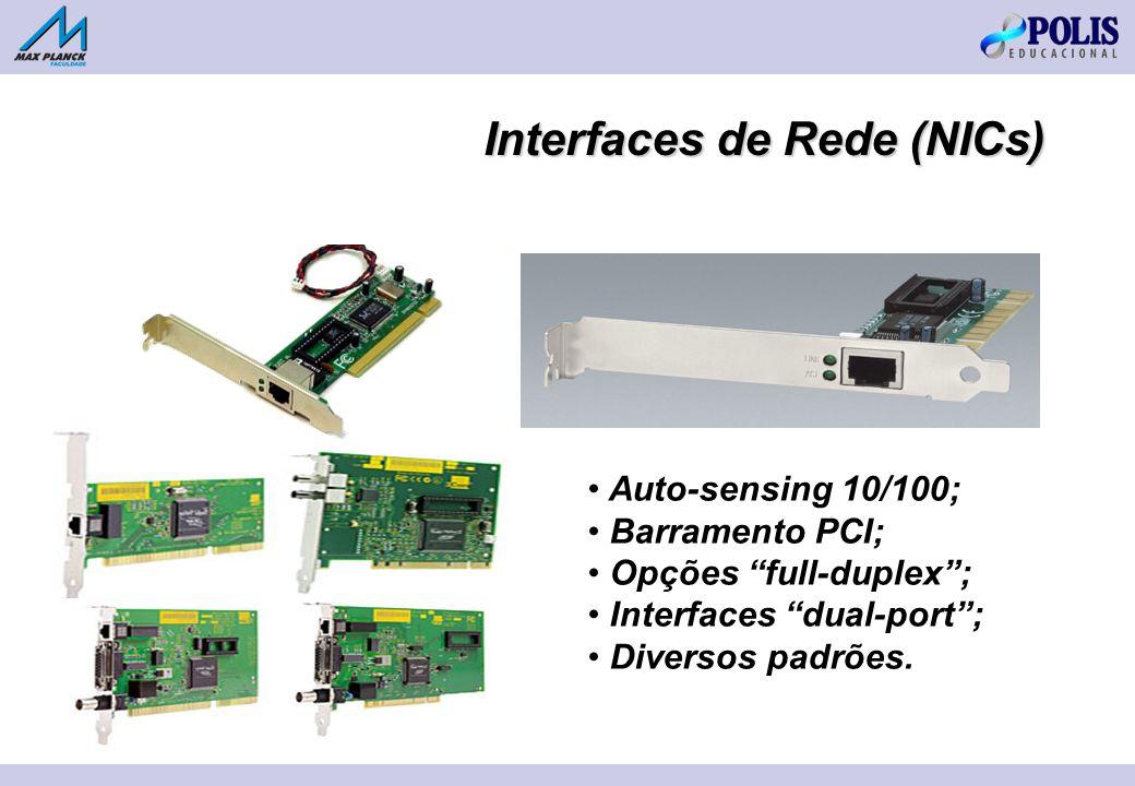 Interfaces de Rede (NICs)