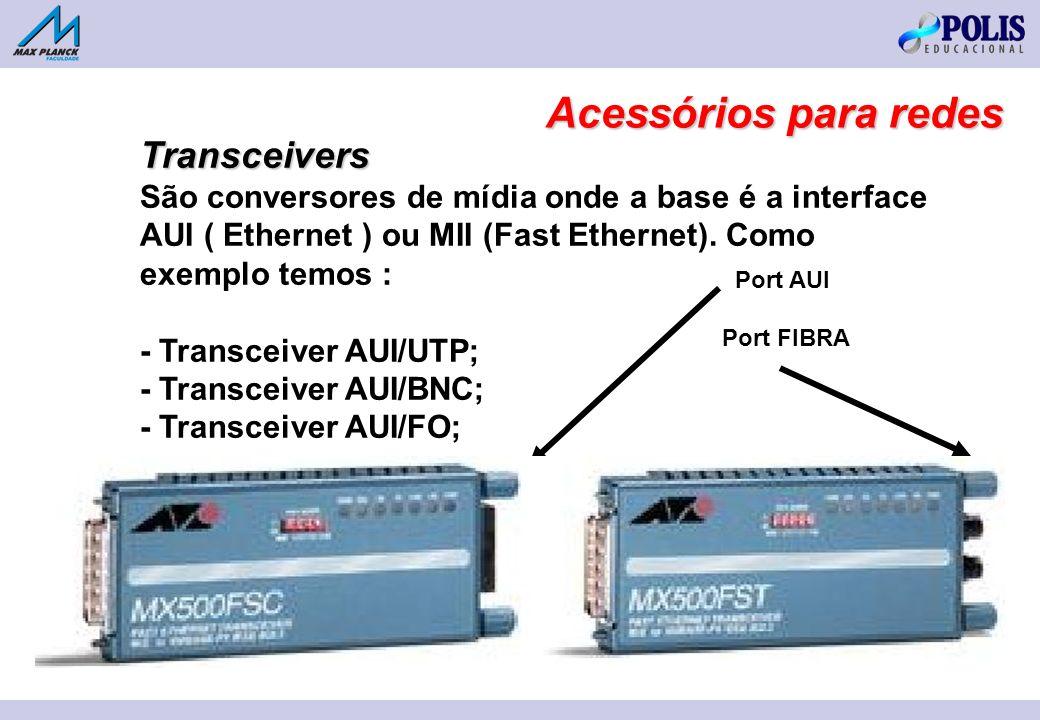 Acessórios para redes Transceivers