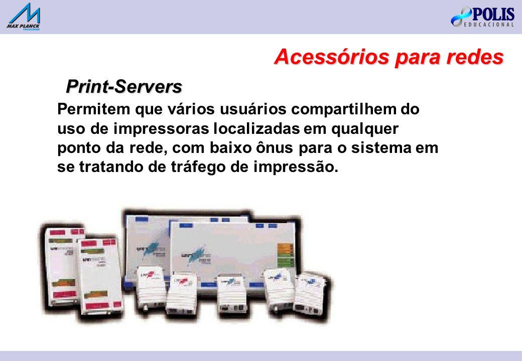 Acessórios para redes Print-Servers