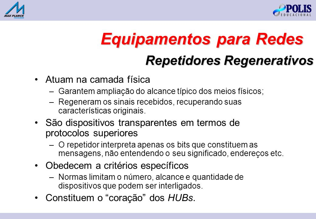 Repetidores Regenerativos