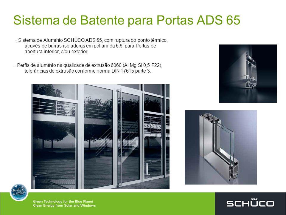 Sistema de Batente para Portas ADS 65