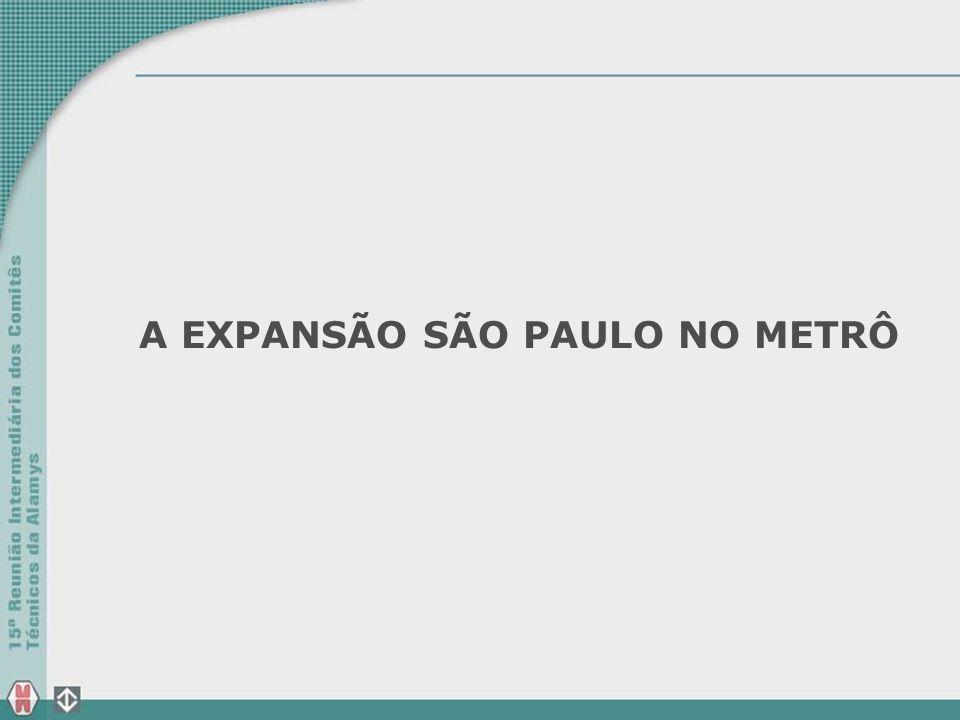A EXPANSÃO SÃO PAULO NO METRÔ