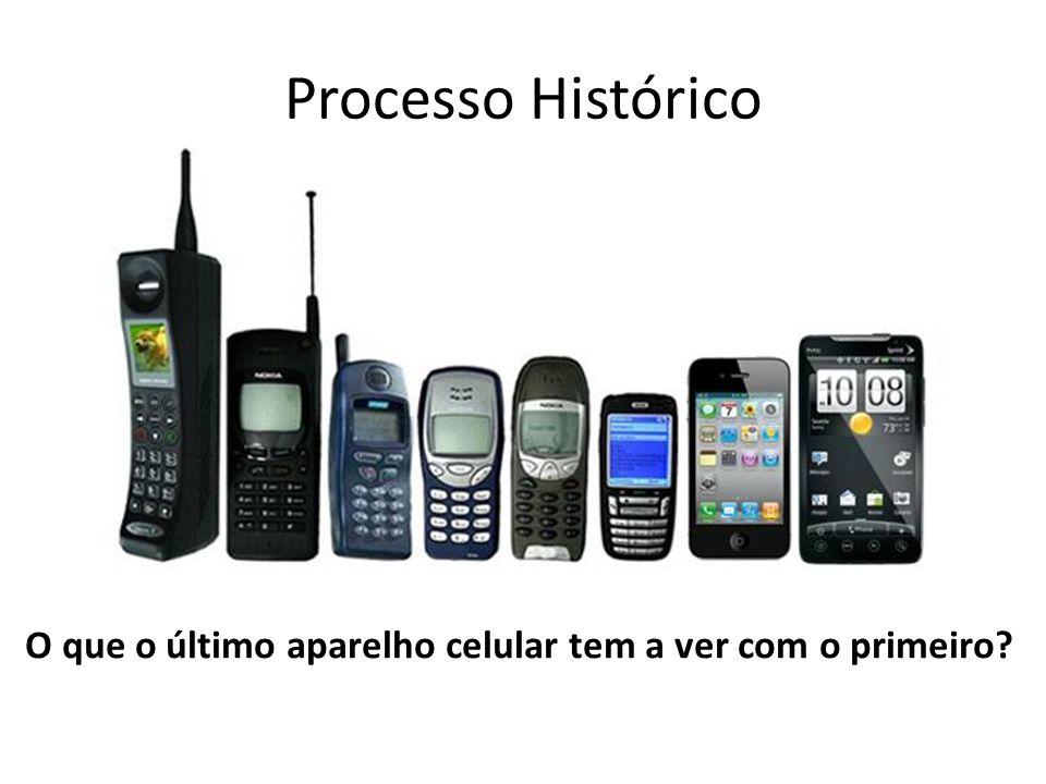 O que o último aparelho celular tem a ver com o primeiro