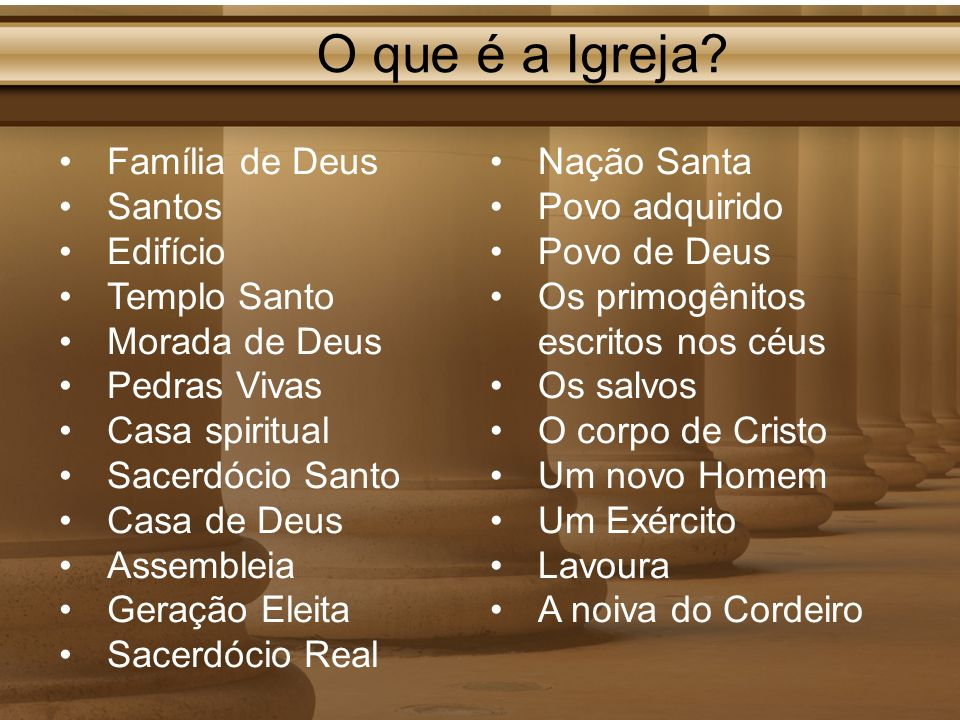 O que é a Igreja Família de Deus Santos Edifício Templo Santo