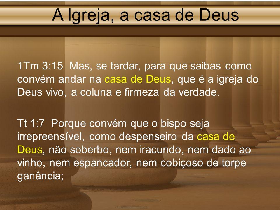 A Igreja, a casa de Deus