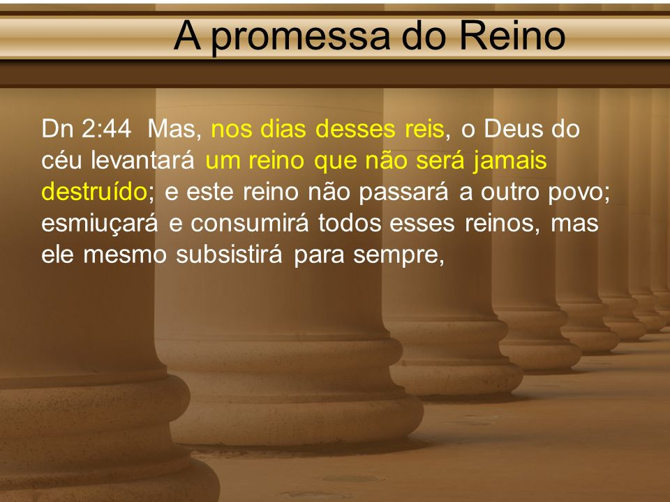 A promessa do Reino