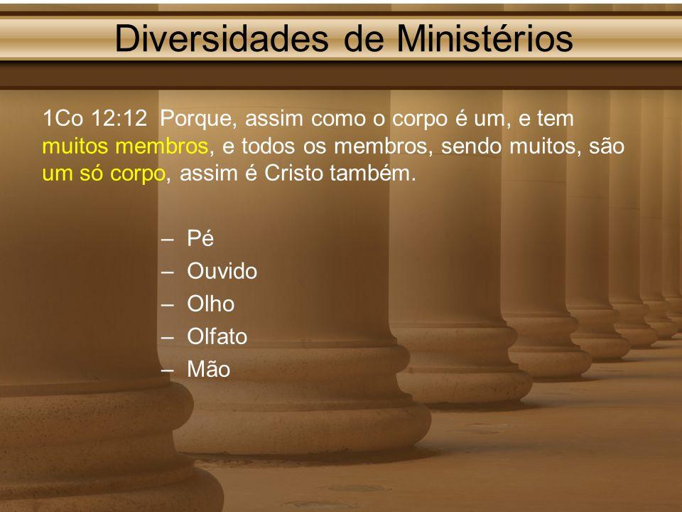 Diversidades de Ministérios