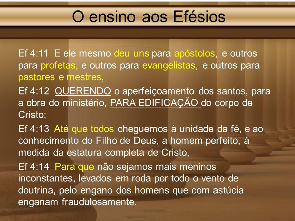 O ensino aos Efésios
