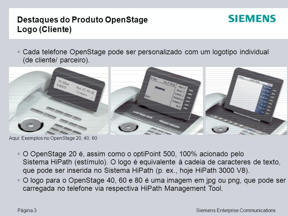 Destaques do Produto OpenStage Logo (Cliente)