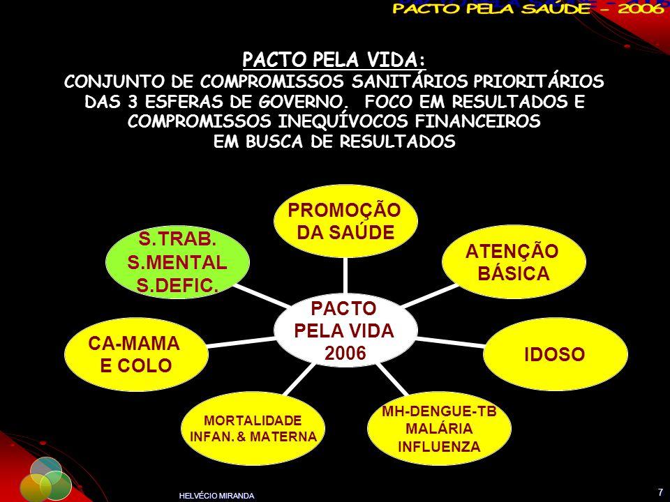 PACTO PELA VIDA: