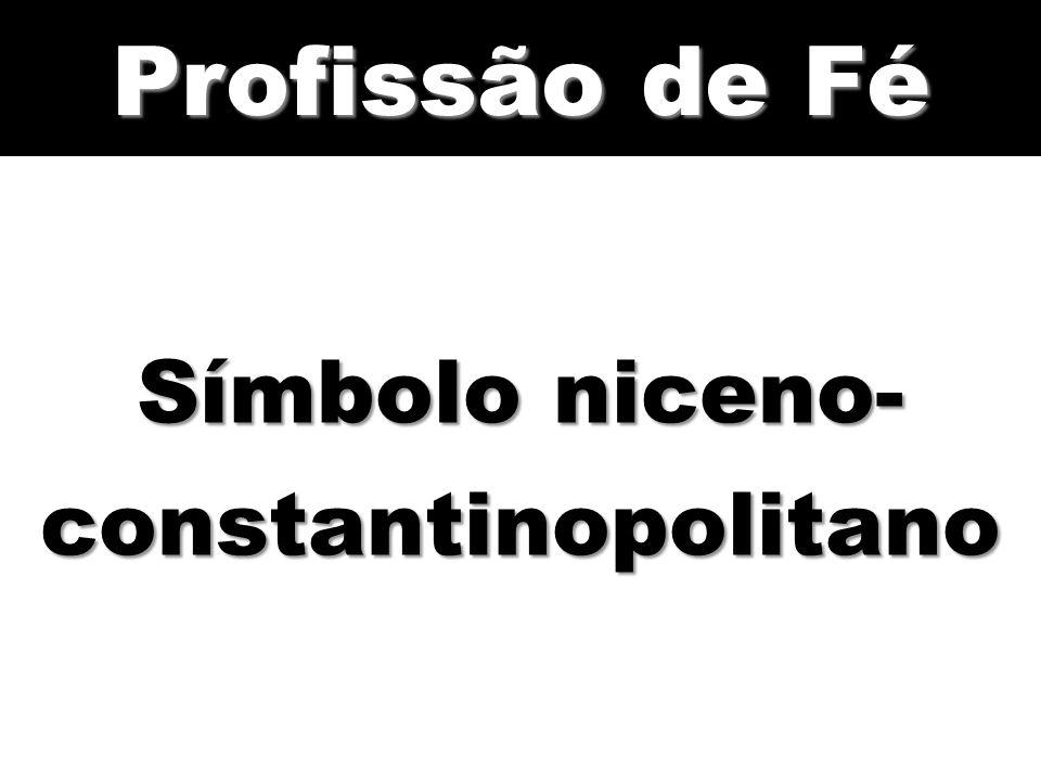 Símbolo niceno-constantinopolitano