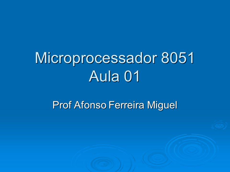 Microprocessador 8051 Aula 01
