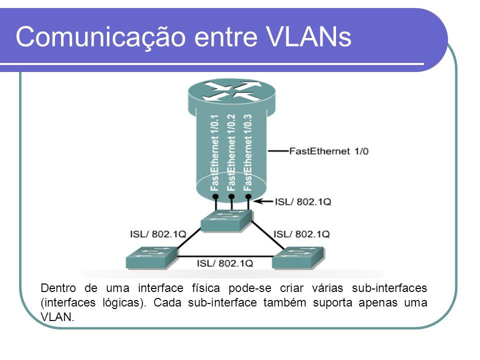 Comunicação entre VLANs