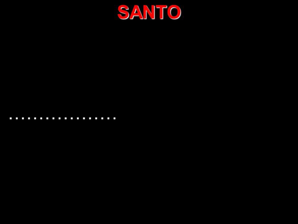 SANTO ……………… 1/1