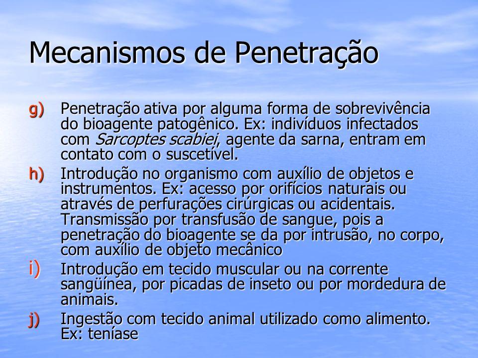 Mecanismos de Penetração