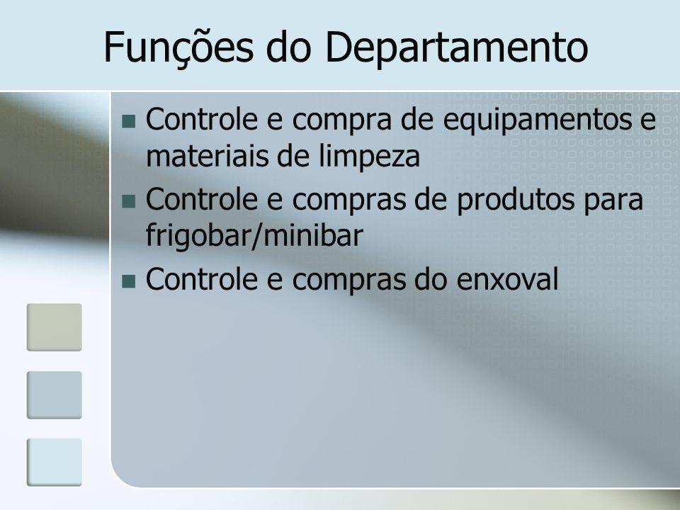Funções do Departamento