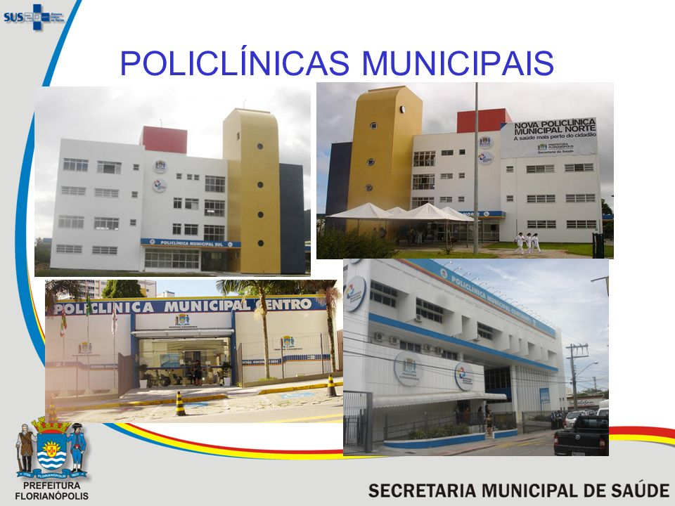 POLICLÍNICAS MUNICIPAIS