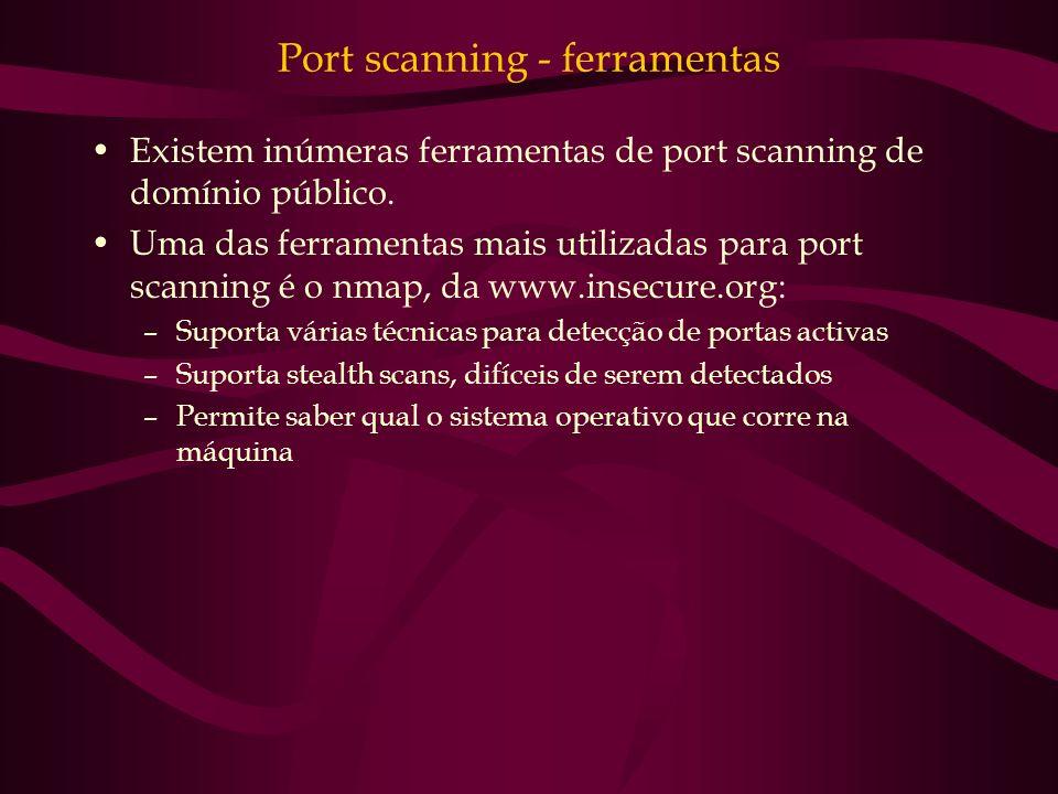 Port scanning - ferramentas