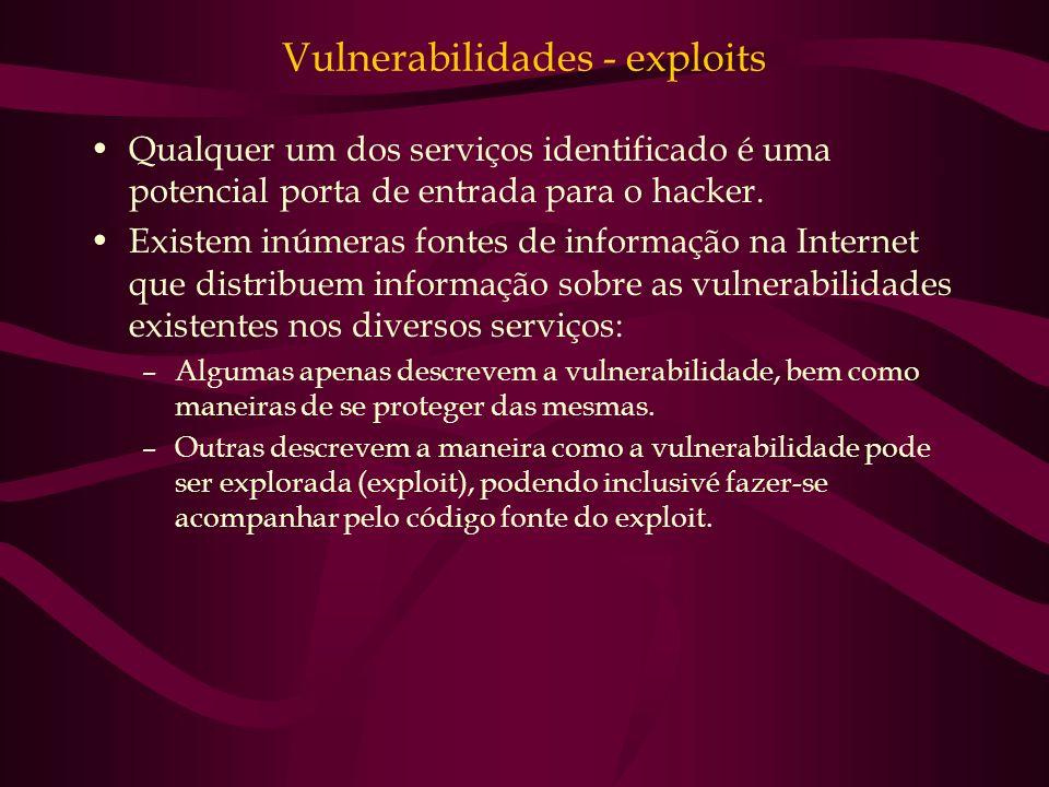 Vulnerabilidades - exploits