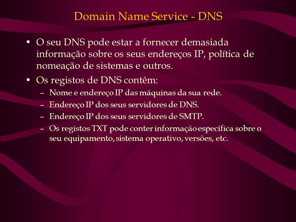 Domain Name Service - DNS