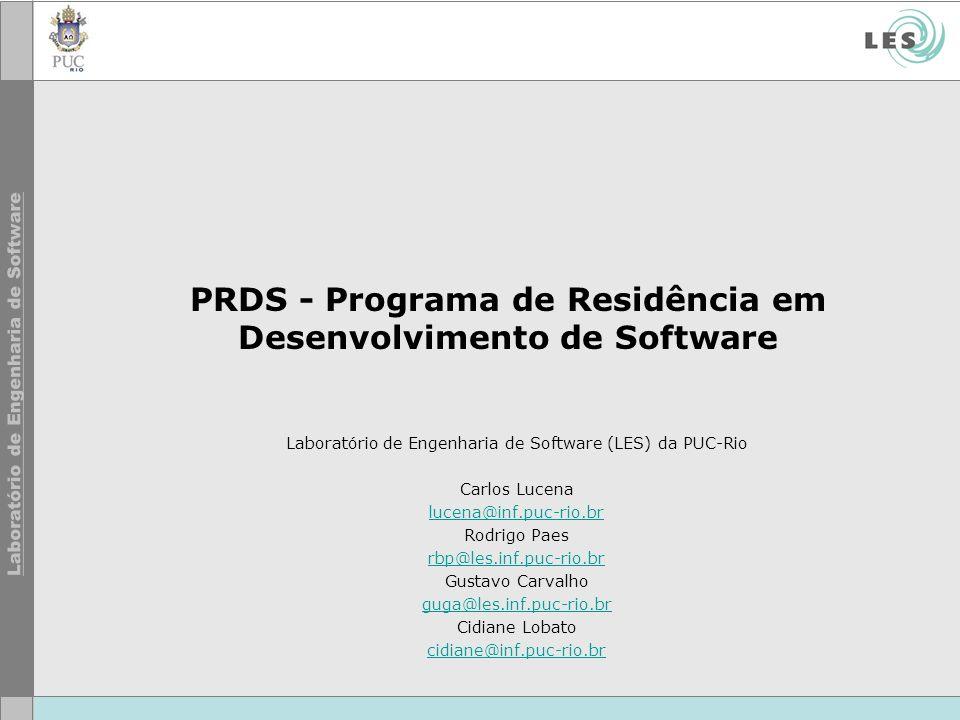 PRDS - Programa de Residência em Desenvolvimento de Software