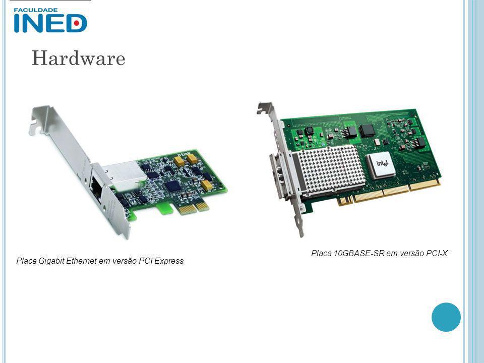 Hardware Placa 10GBASE-SR em versão PCI-X