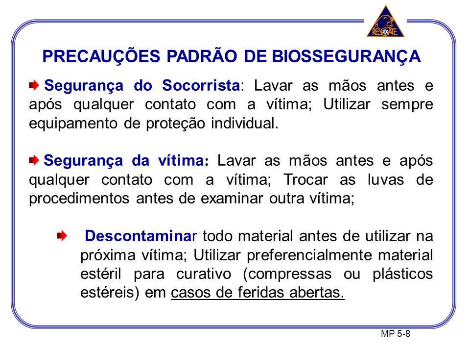 PRECAUÇÕES PADRÃO DE BIOSSEGURANÇA